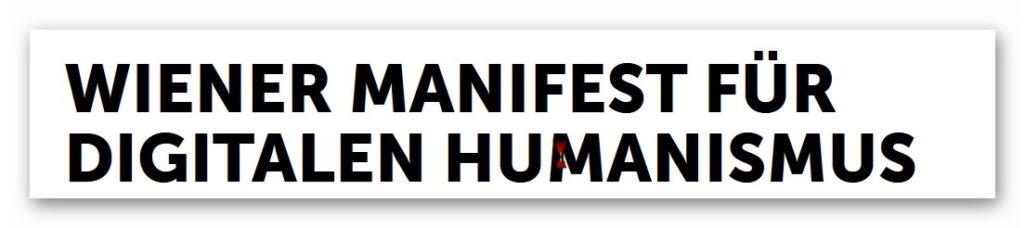 Wiener Manifest des Digitalen Humanismus